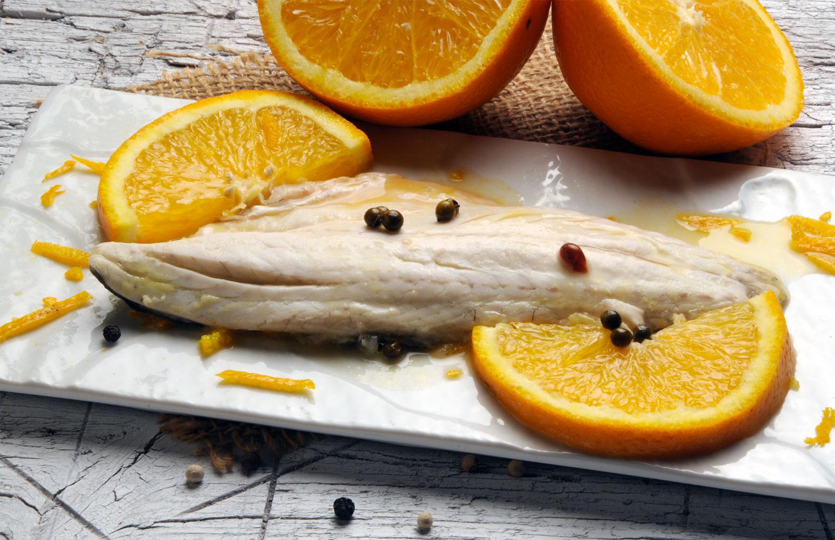 spigola-arancia